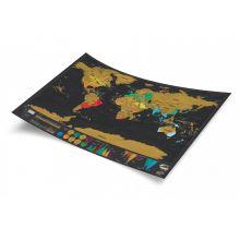 Scratch Map Deluxe - Världskarta