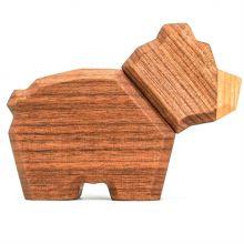 FableWood, magnetisk träleksak - Liten Björn