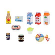 Leksaksmat - Set med kylvaror