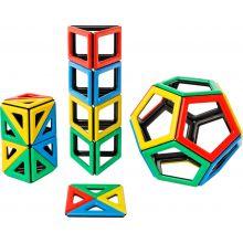 MAG Polydron | Set med extra figurer | 48 delar