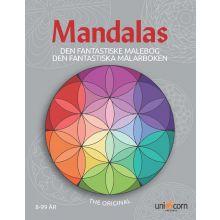 Mandalas målarbok - Den fantastiska