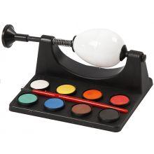 Äggmålare, 8 färger + pensel