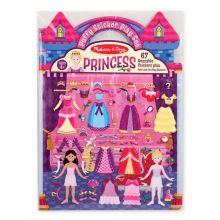 Aktivitetsbok med klistermärken - Prinsessor