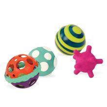 Aktivitetsbollar - Ball-a-Balloos, 4 st.
