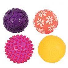Aktivitetsbollar - Oddballs, 4 st.