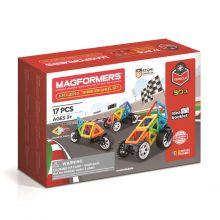 Magformers Coola bilar - 17 delar