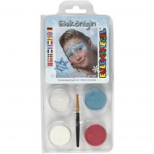 Ansiktsfärg - Snödrottning