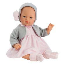 Así-docka 36 cm Koke-flicka - Med tröja och hätta