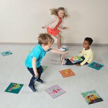 Barnspel - Djungelrace