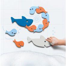 Badleksak Quutopia - Pussel med hajar / fiskar