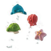 Badlek - Set med havsdjur