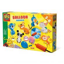 Ballongfigurer med djur