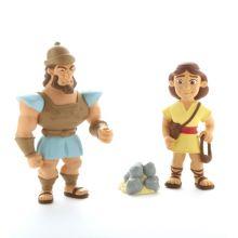 Bibliskt figurset - David och Goliat