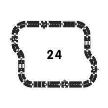 Bilbana - Motorväg, 24 delar