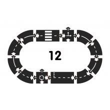 Bilbana - Ringbana, 12 delar