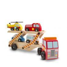 Biltransport m. utryckningsfordon