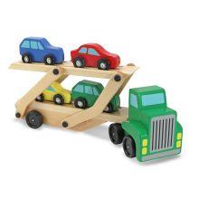 Biltransport med 4 bilar