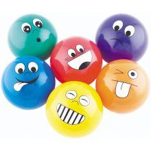 Bollar med känslor 6 st. - Ø 10 cm
