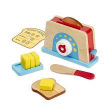 Leksaksmat - Brödrost med bröd & smör