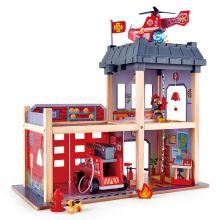 Brandstation i trä m. 13 delar