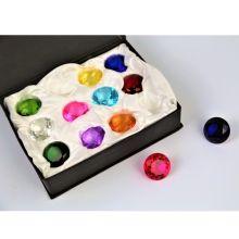 Diamanter 3cm - Set med 12 st.