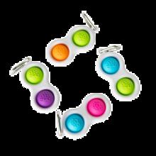 Dimpl - Bubbelnyckelring (blandade färger), 1 st.