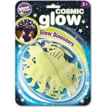 Glow - Dinosaurier + stjärnor, 12 delar