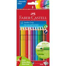 Faber Castell Färgpennor Jumbo Grip 12 st.