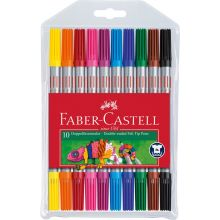 Faber Castell Tuschpennor dubbel 10 st.