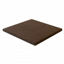 Fallunderlag 50 x 50 cm / 30 mm tjock - Svart