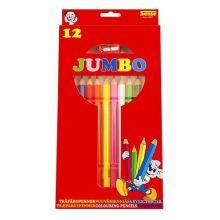 Färgpennor Jumbo 12 st.