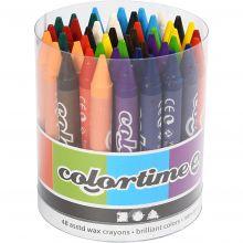 Färgkritor, 48 st.