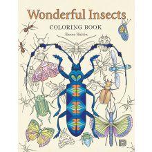 Färgläggningsbok - Insekter