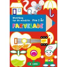 Färglägg - Målarbok för de minsta (från 3 år)