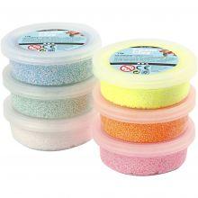 Foam Clay 6 x 14 g - Glitter