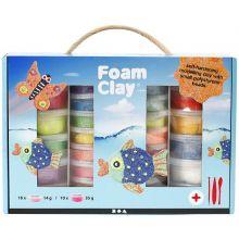 Foam Clay i presentförpackning, 28 burkar + verkty