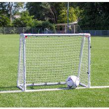 Fotbollsmål i stål 1 st. - 110 x 90 cm.