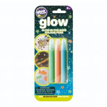 Glow - Tusch mix, 3 styck