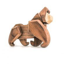 FableWood - magnetisk träleksak, Gorilla