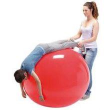 Gymnastikboll 85 cm röd
