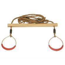 Gunga - Trapets i trä m. ringar
