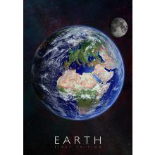 Interaktiv affisch - Jorden