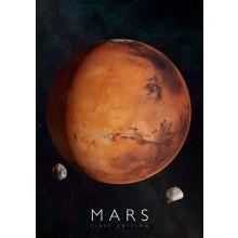 Interaktiv affisch - Mars