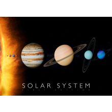 Interaktiv affisch - Solsystemet