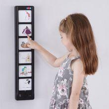Interaktiv väggpanel - spela in och spela upp