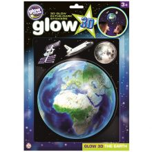 Glow 3D - Jordklotet, 4 delar