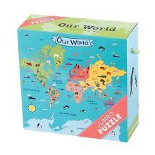 JÄTTEPussel - Vår Värld, 25 bitar
