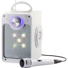 Karaokemaskin m. bluetooth + ljus