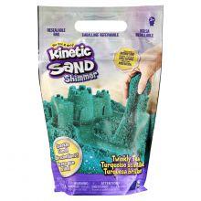 Kinetic Sand – Turkos med glitter, 900 gram