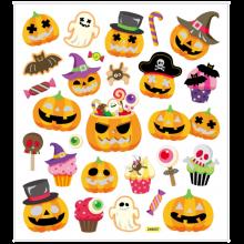Klistermärken - Halloween, 1 ark